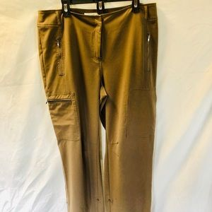 Chico's size 3 pants. Brown.